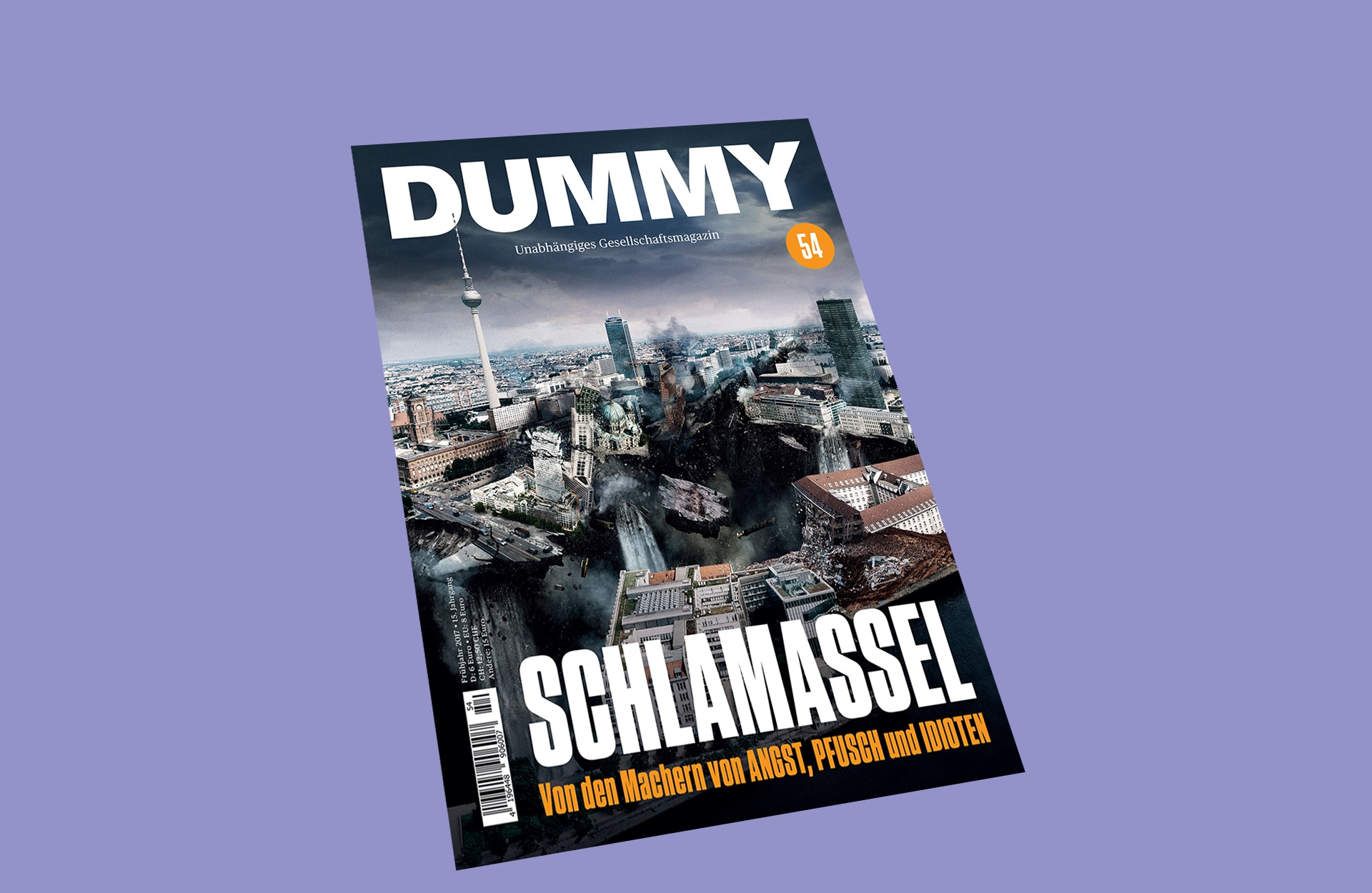 DUMMY 54 Schlamassel Cover