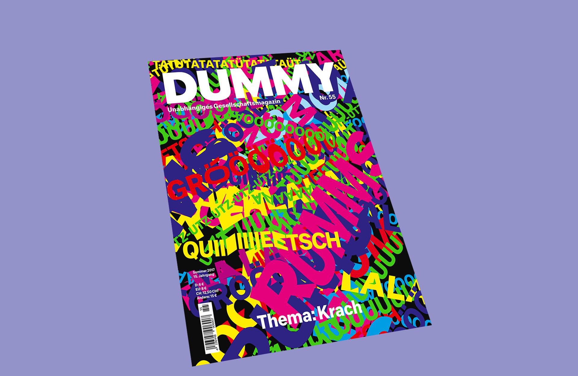 Cover DUMMY 55 Krach