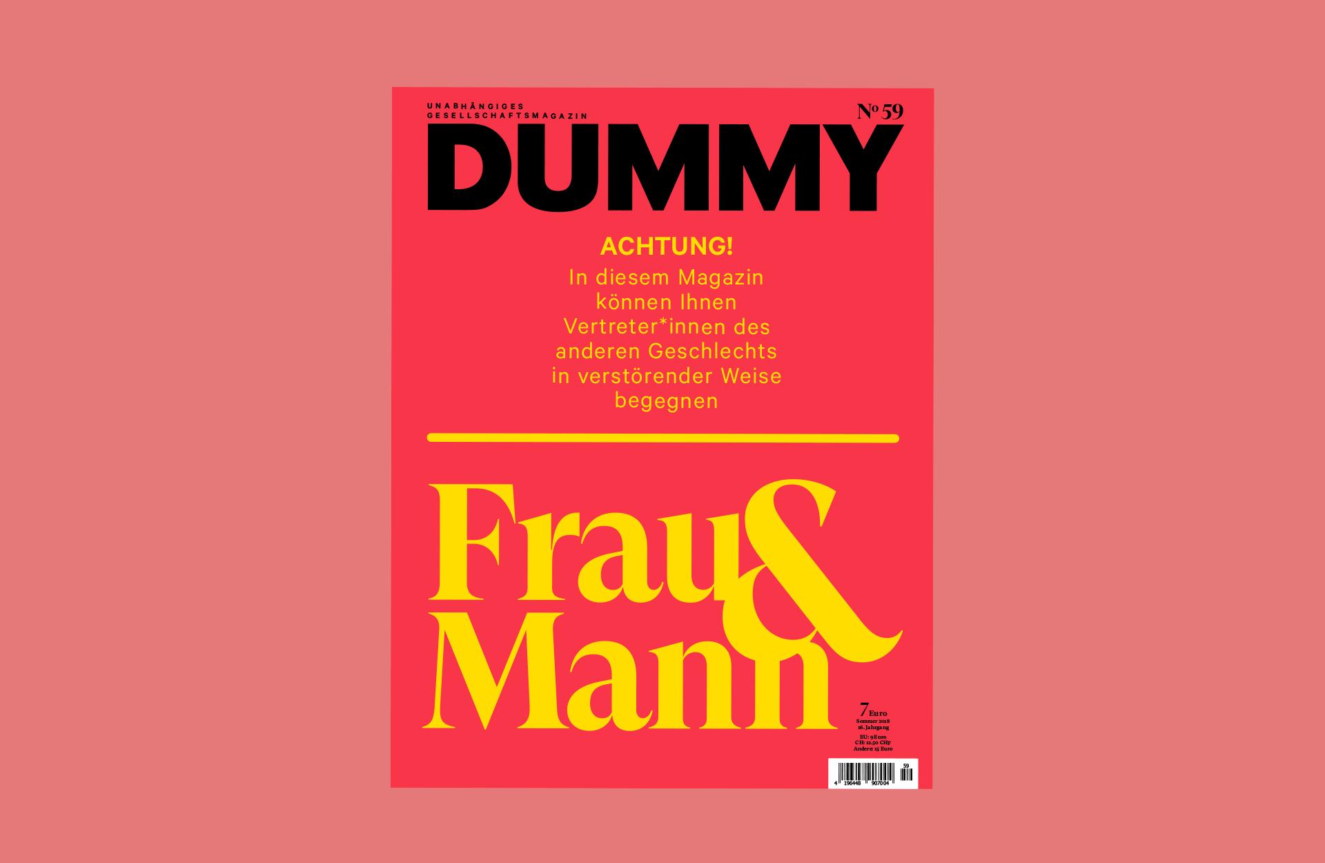 DUMMY 59 zum Thema Frau und Mann