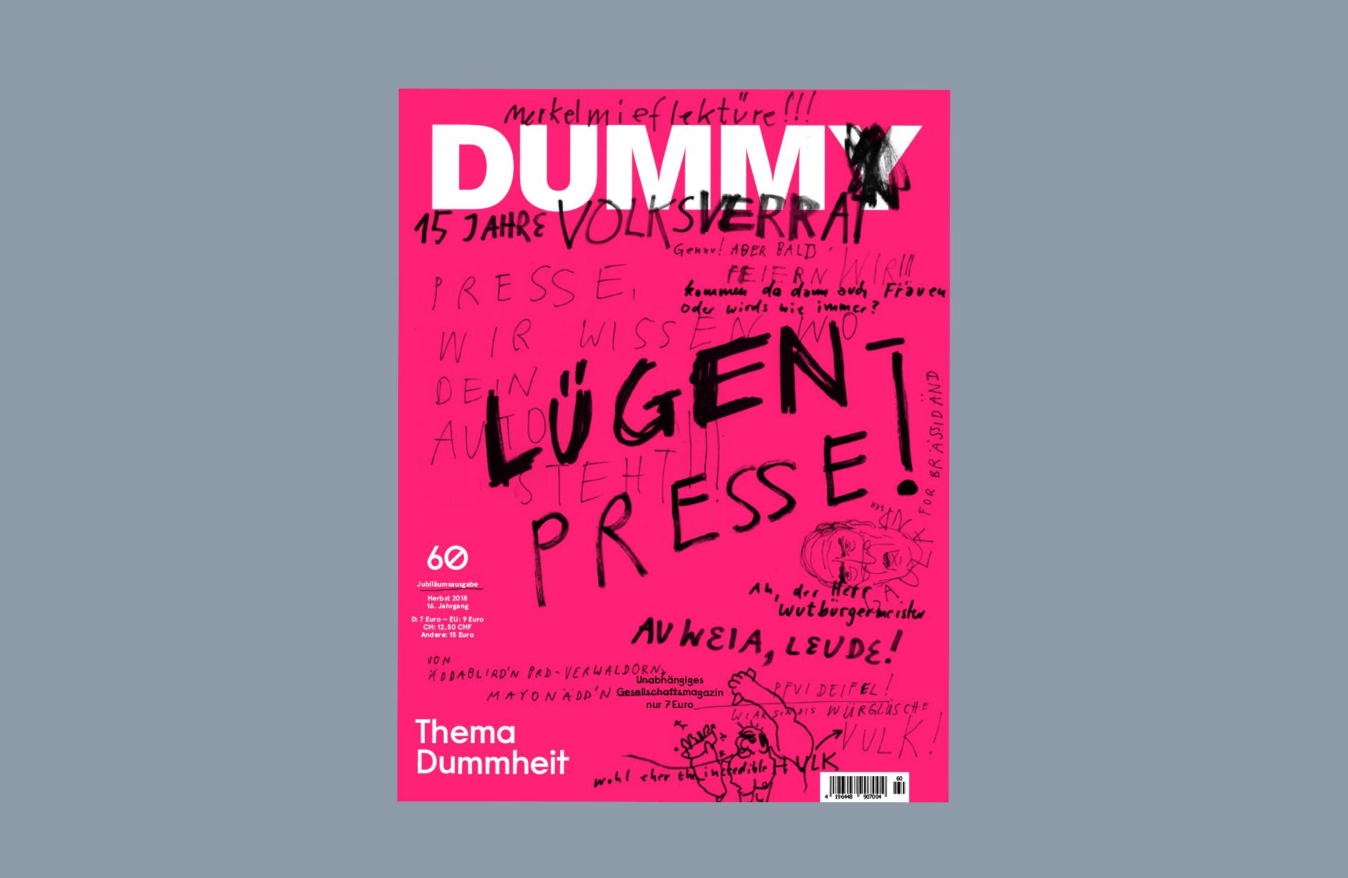 DUMMY 60 Dummheit