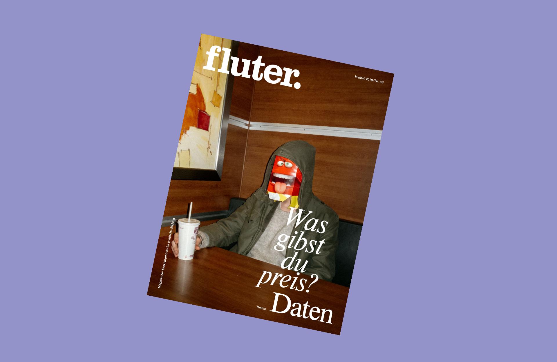 fluter Magazin 68 zum Thema Daten