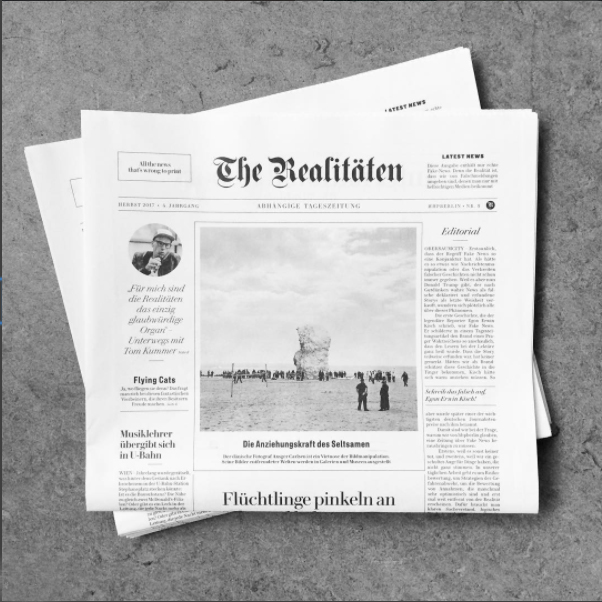 Realitäten zum Thema Fake News
