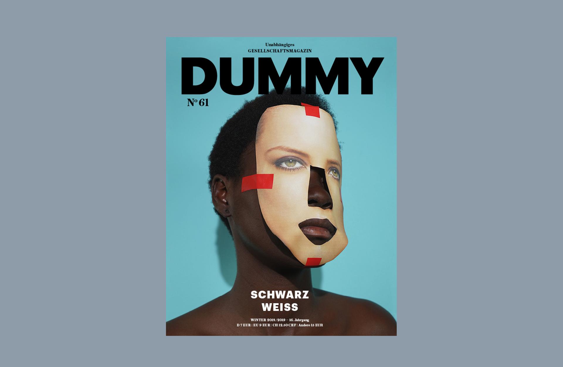 DUMMY Schwarz Weiss Cover